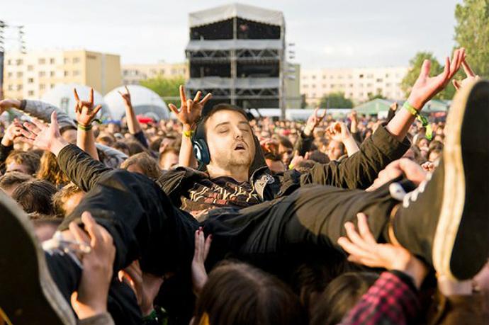 «Спящий», звезда рок-концерта