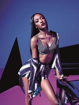Рекламный снимок Rihanna for River Island