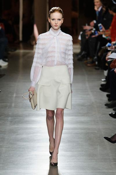 Показ Oscar de la Renta на Неделе моды в Нью-Йорке | галерея [1] фото [40]