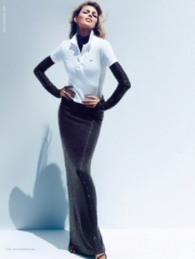 Новые рекламные снимки Lacoste