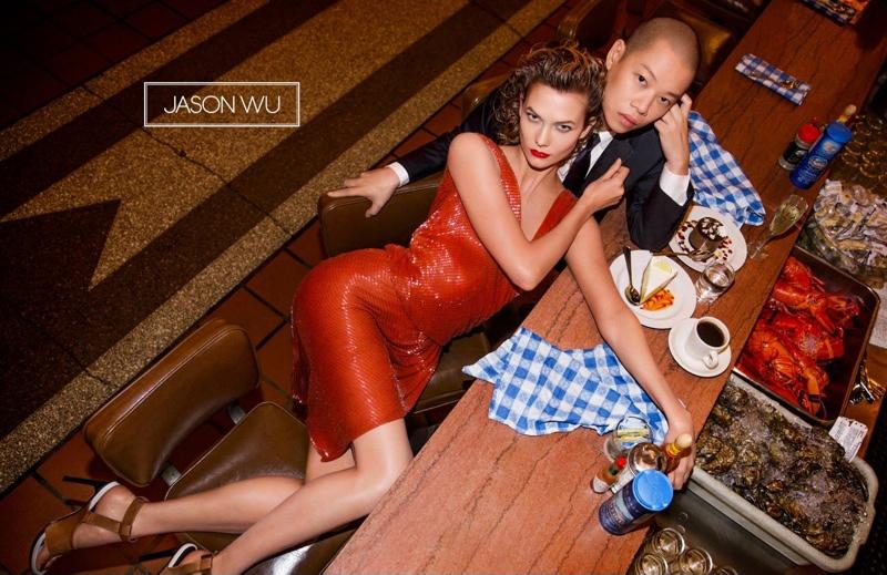 Карли Клосс рекламирует Jason Wu