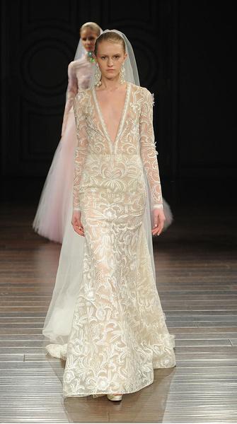 Лучшие коллекции Недели свадебной моды | галерея [5] фото [12]