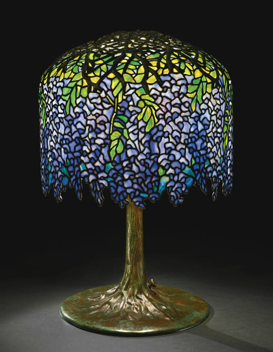 Лампа «Глициния», 1902 г.
