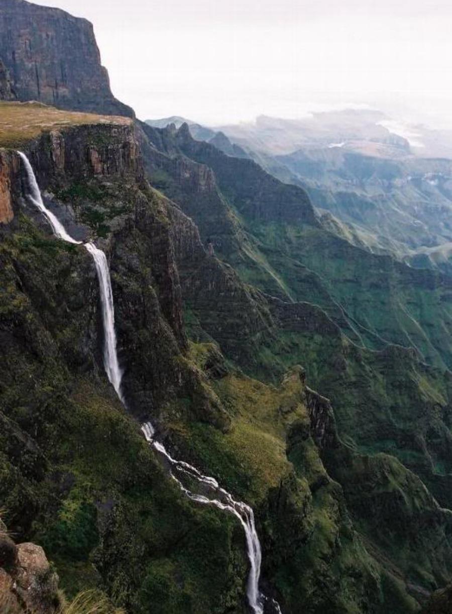 Водопад Тугела, Южная Африка