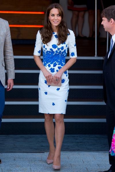 Кейт Миддлтон признана самой влиятельной модной иконой Великобритании | галерея [1] фото [2]