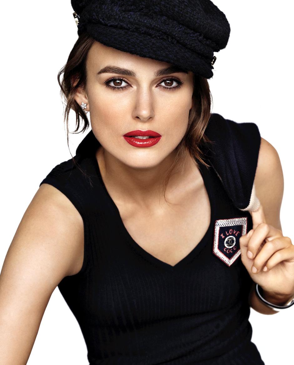 Кира Найтли в рекламной кампании Chanel Rouge Coco