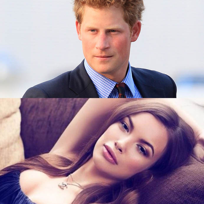 Принц Гарри и Анастасия Гусева