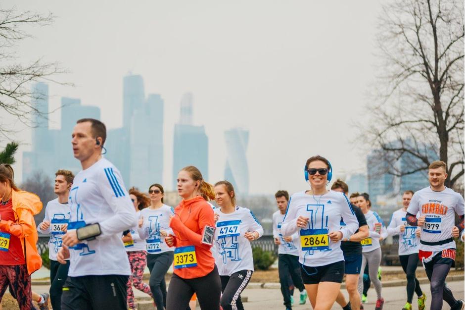 Московский марафон 2016: первый забег