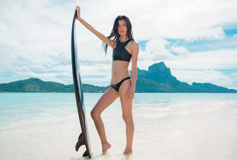 НА ВОЛНЕ: модные купальники в спортивном стиле | галерея [1] фото [7]