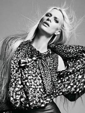 Кристен МакМенами в рекламе Jean Paul Gaultier