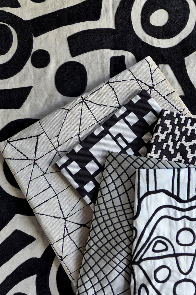 Ткани из коллекции Nuit & Jour.