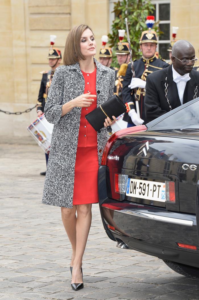 Наряды королевы Летисии