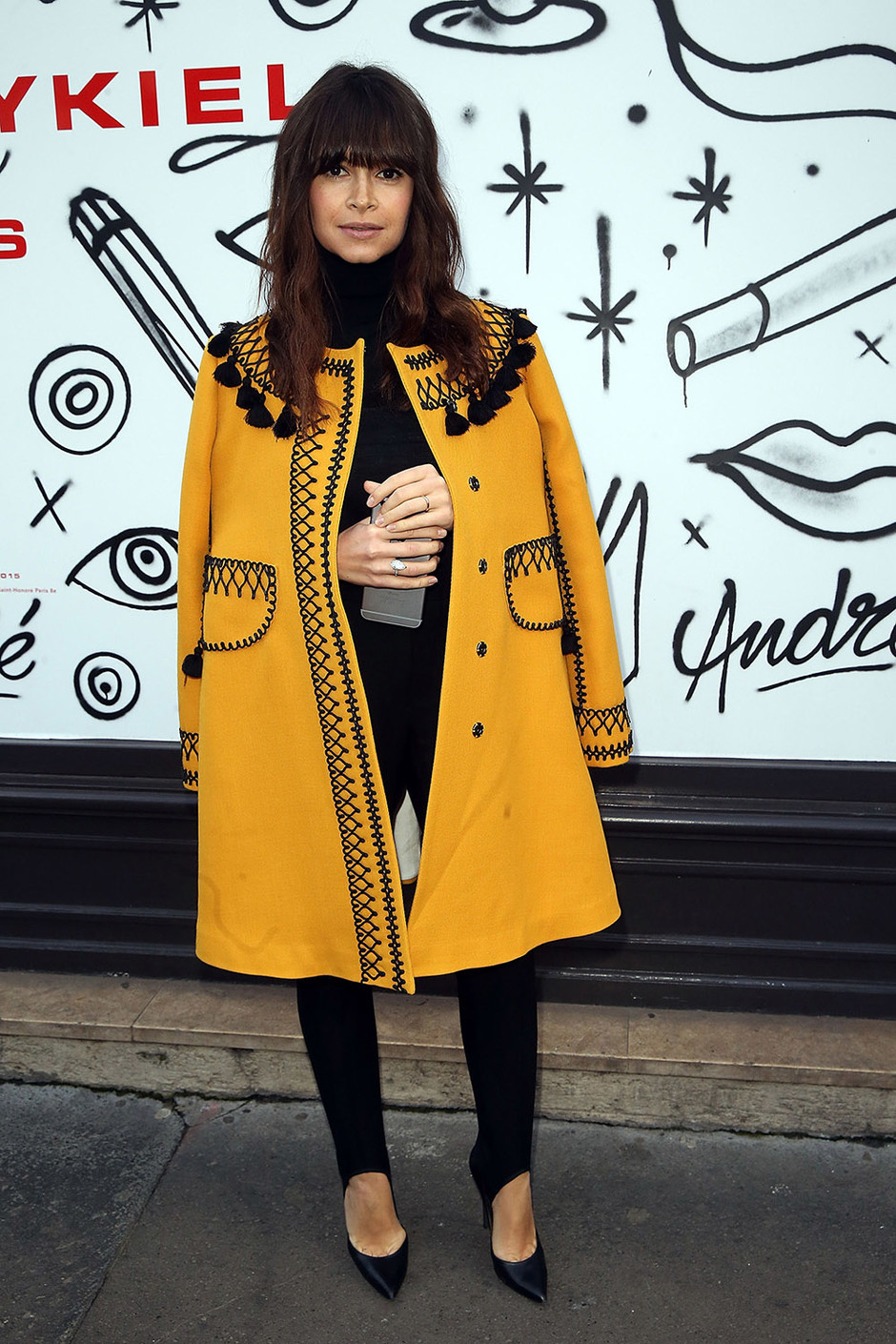Miroslava Duma attends the Sonia Rykiel show as part of the Paris Fashion Week Womenswear FallWinter 20152016 on March 9, 2015
