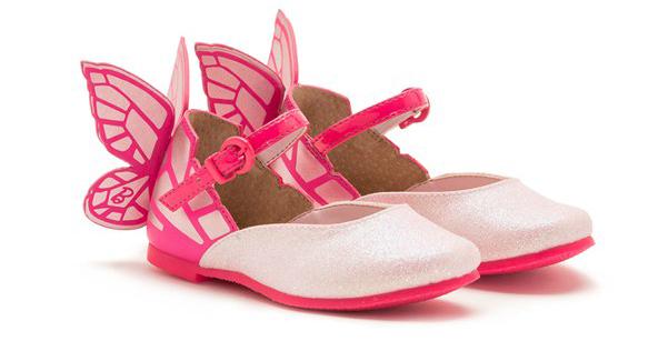 Модные детские туфли от Sophia Webster