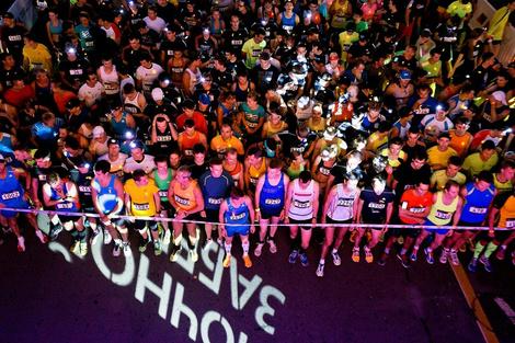 Проект «Ночной забег» в рамках Московского марафона фото 2