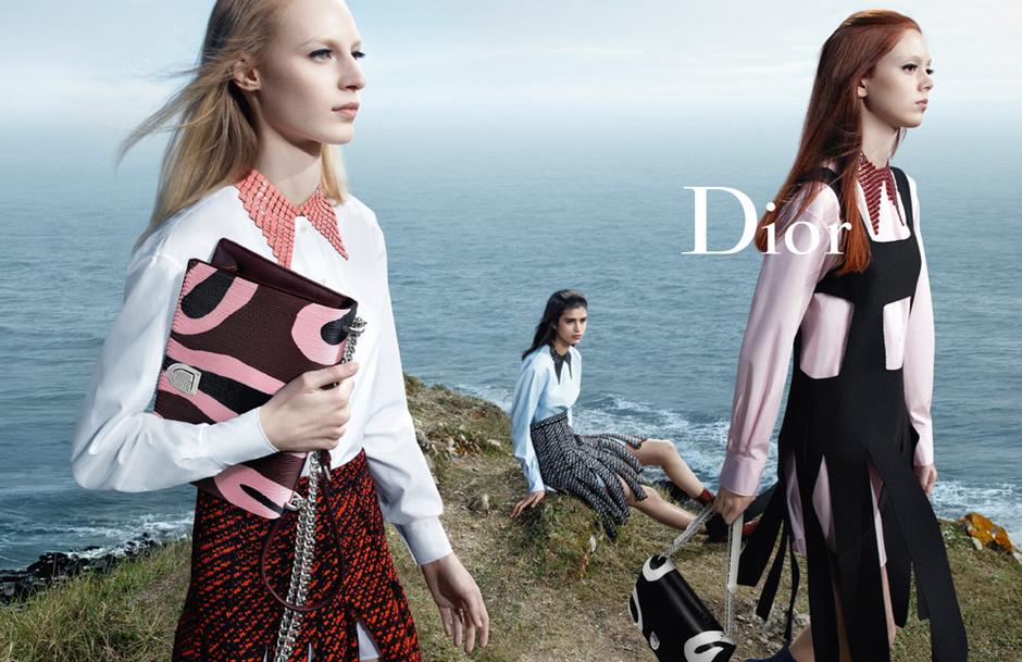 Новая коллекция Christian Dior осень-зима 2015-2016