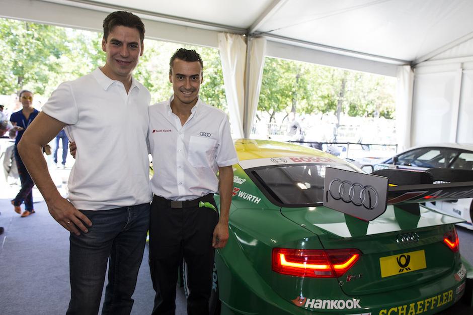 В подмосковном треке прошел Moscow Raceway при участии Audi