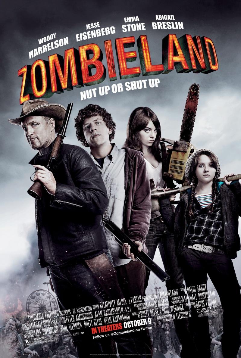 №3. «Добро пожаловать в Zомбилэнд» (Zombieland), 2009