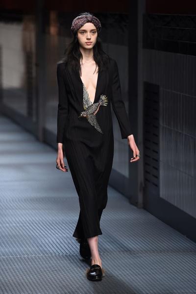 Показ Gucci на Неделе моды в Милане | галерея [1] фото [17]