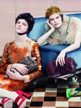 Рекламная кампания Prada сезона осень-зима 2011