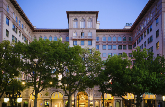 Four Seasons Regent Beverly Wilshire, Беверли-Хиллз, США