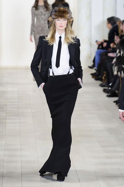 Показ Ralph Lauren на Неделе моды в Нью-Йорке | галерея [1] фото [3]