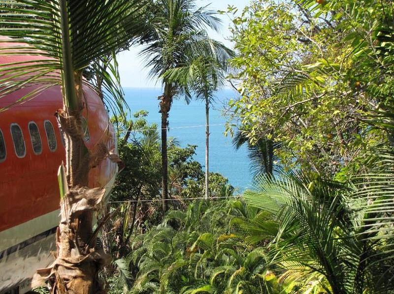 Отель-«самолет» Costa Verde в Коста-Рике фото 4