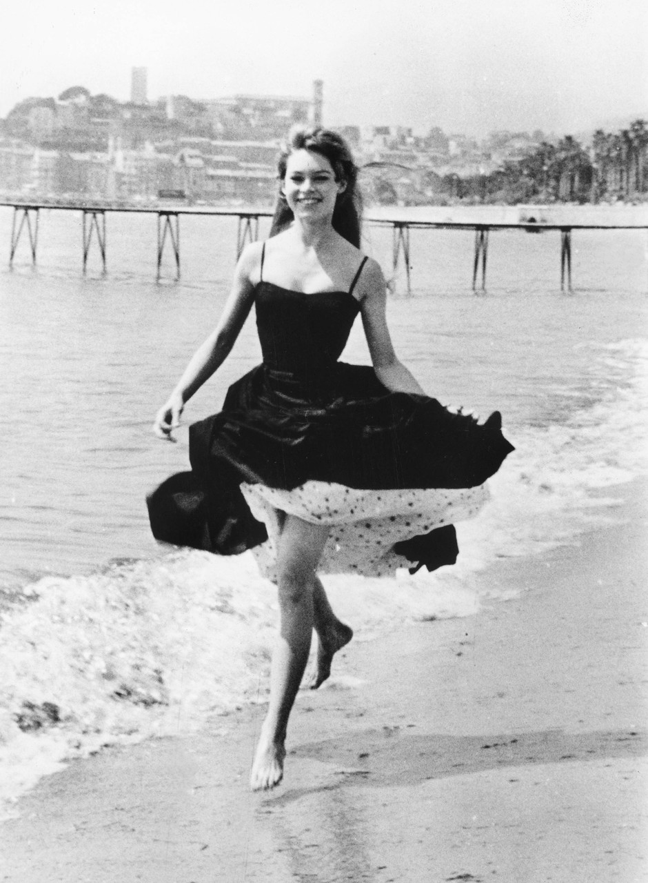 Брижит Бардо, Канны 1956 фото