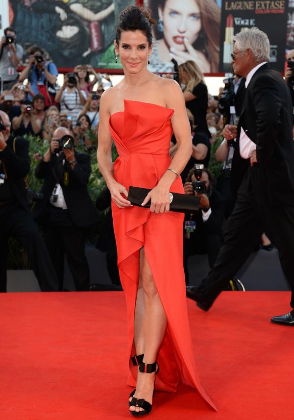 Сандрой Баллок на Международном Венецианском кинофестивале 2013