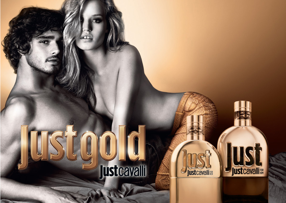 Джорджия Мэй Джаггер в рекламе Just Cavalli