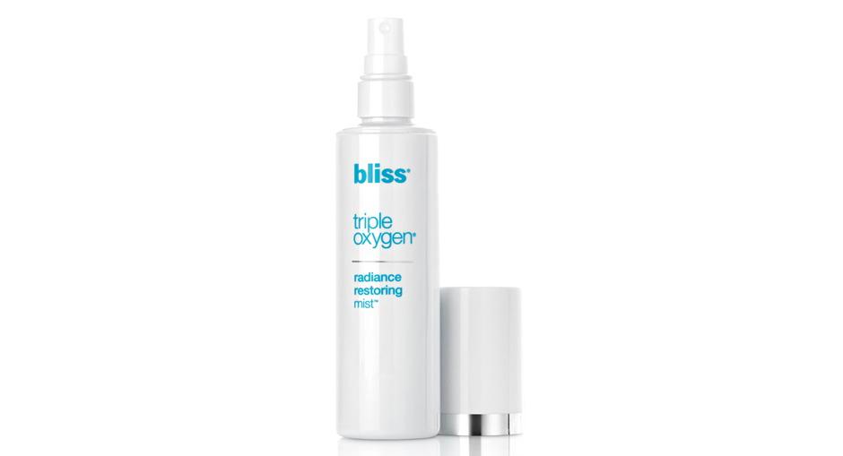 Кислородный спрей для сияния и восстановления Triple Oxygen Radiance Restoring Mist от Bliss