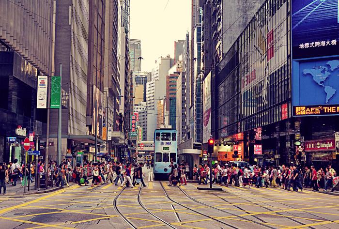 Гонконгские улицы