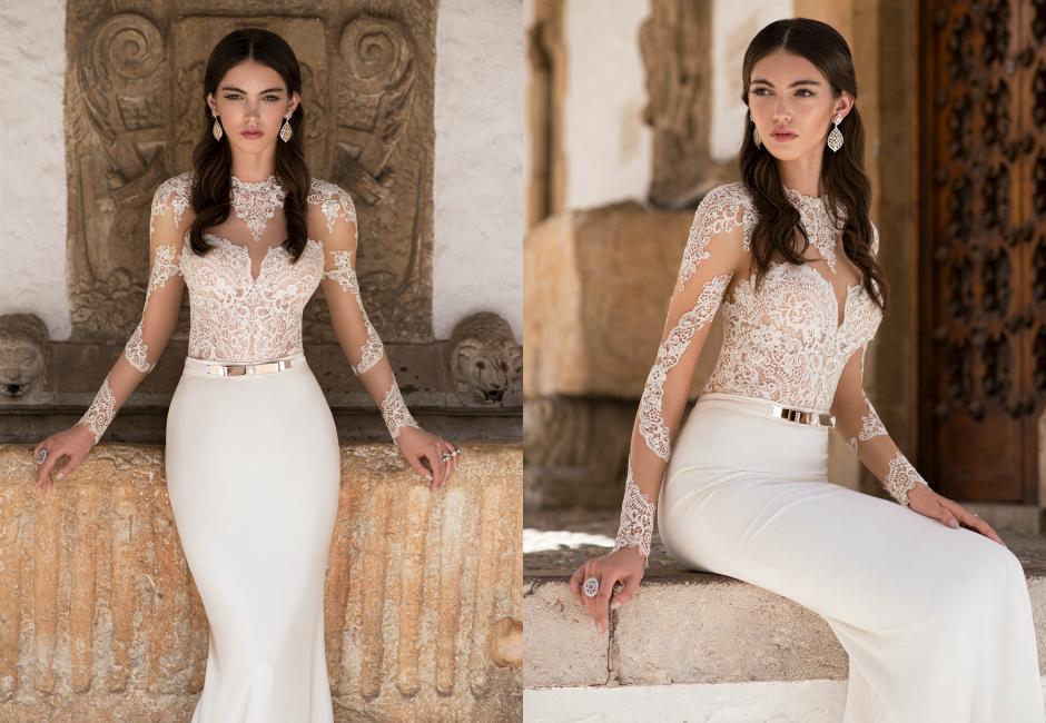 Осенние свадебные платья 2016