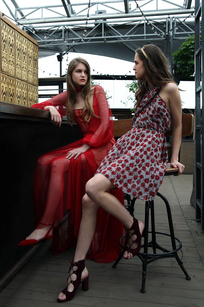 В «Цветном» представили большую коллекцию платьев