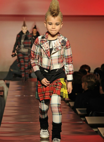 Jean Paul Gaultier kids FW 2014