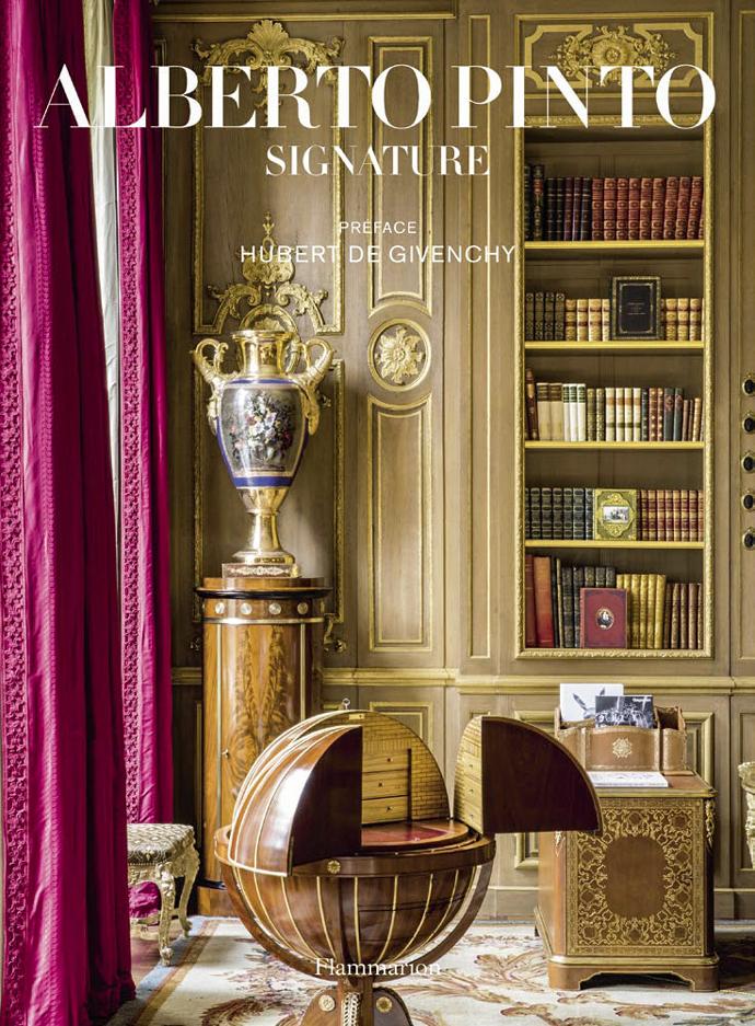 Alberto Pinto: Signature Interiors. Anne Bony, Hubert de Givenchy. Flammarion, 2015.