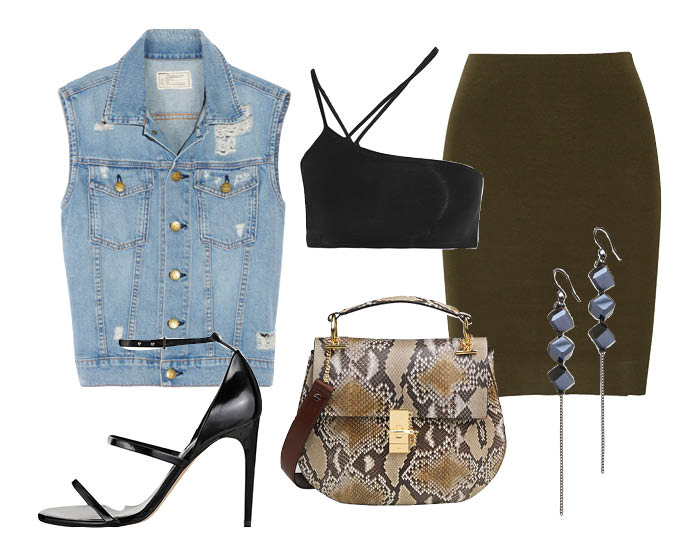 How to wear: жилет из денима 4 с чем носить жилет