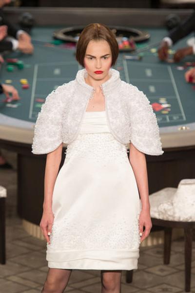 10 самых красивых свадебных платьев с Недели Высокой моды в Париже. | галерея [1] фото [12]