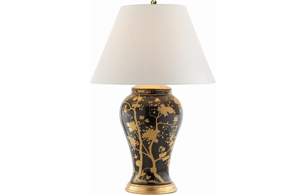 Настольная лампа, фарфор, Ralph Lauren Home.