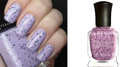 Illamasqua, Speckled Nail Varnish и Deborah Lippmann, Staccato Spring Collections