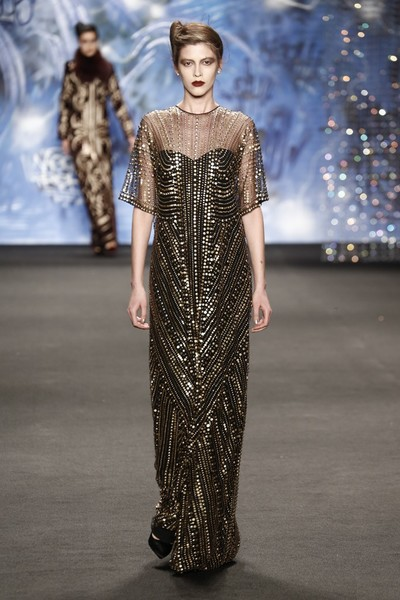 Самые роскошные вечерние платья Недели моды в Нью-Йорке | галерея [3] фото [16]