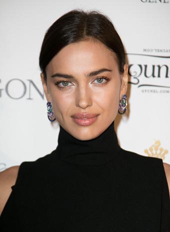 Ирина Шейк: прическа и макияж