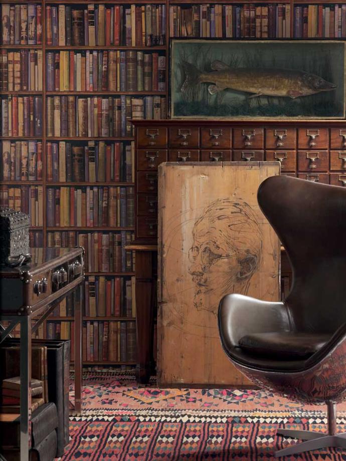 Обои Library, Andrew Martin