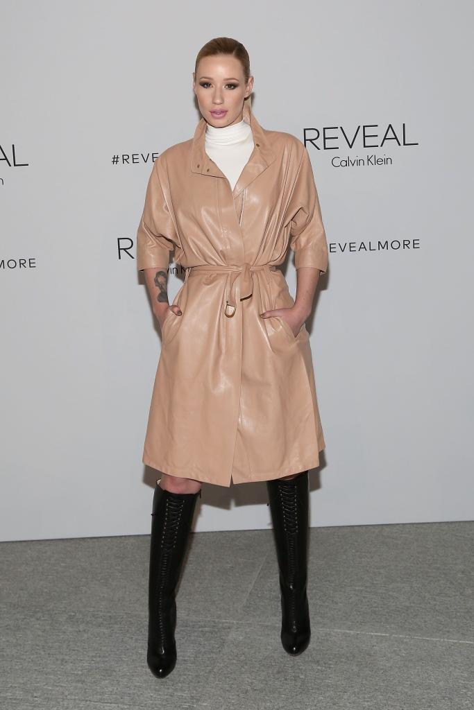 Игги Азалия в Calvin Klein