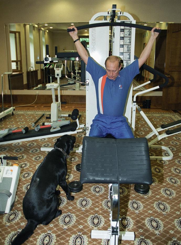 Путин и первые собаки страны