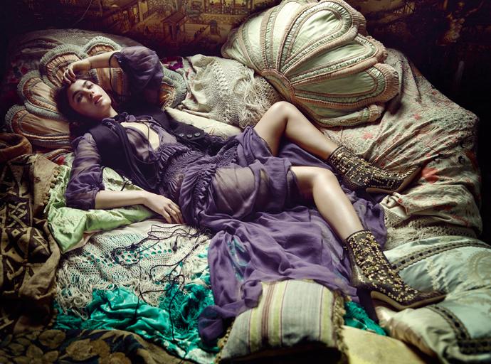 Тренд: модные образы в стиле богемных 1970-х