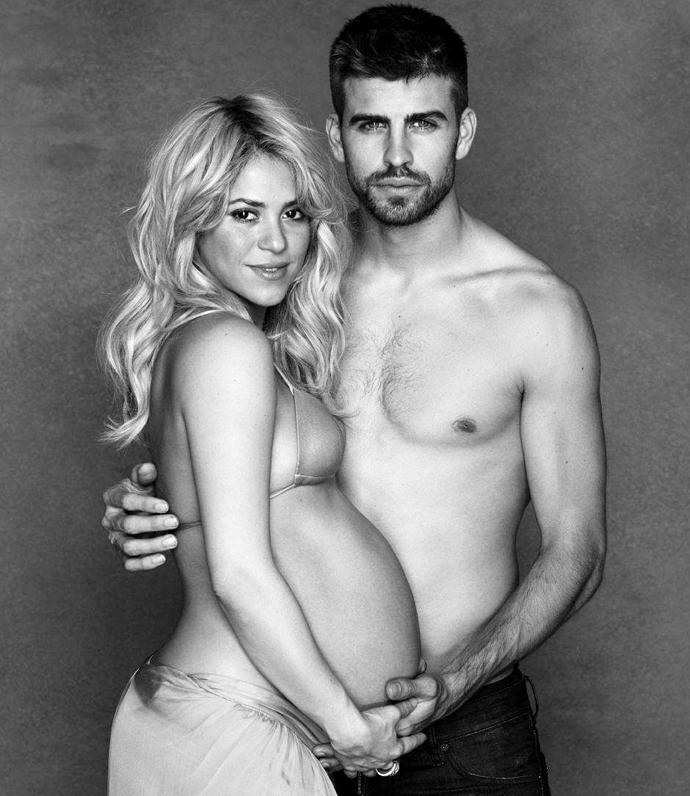 Шакира/Жерар Пике фото жены футболистов
