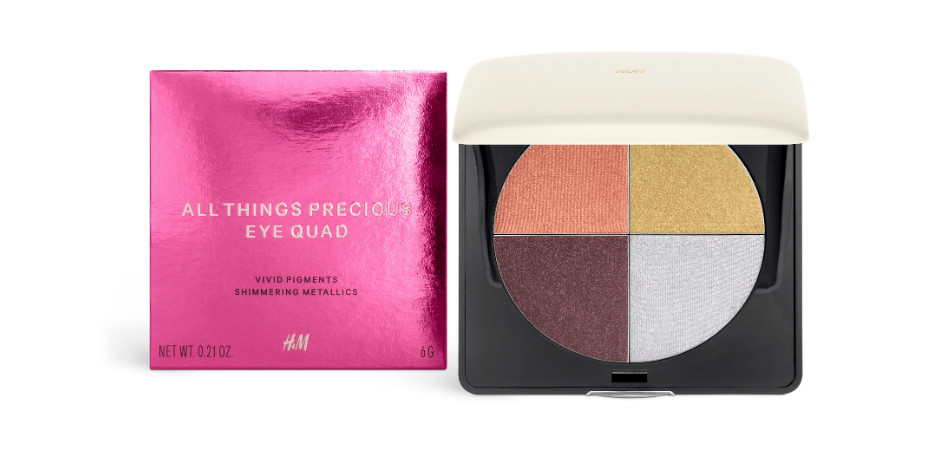 Палетка теней All Things Precious Eye Quad Limited Edition от H&M