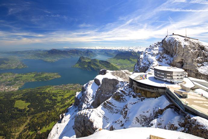 Гора Пилатус Швейцария