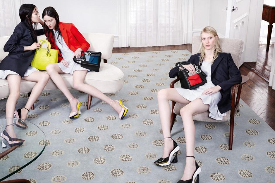 Сумки от Christian Dior: фото